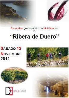 """Excursión gastronómica en bicicleta por la """"Ribera de Duero"""""""